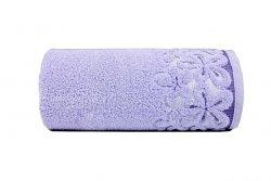 Ręcznik BELLA 50x90 kolor lawendowy
