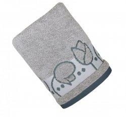 Ręcznik TULIPANO 70x140 kolor popielaty