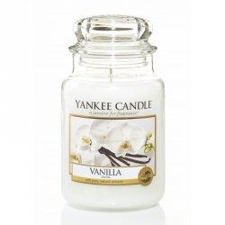 Świeca Yankee Candle Vanilla - duży słoik