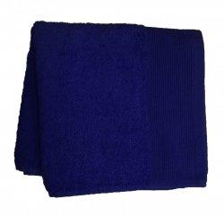 Ręcznik jednobarwny AQUA rozmiar 70x140 granatowy