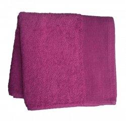 Ręcznik jednobarwny AQUA rozmiar 70x140 fioletowy