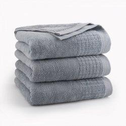 Ręcznik PAULO 50x90 kolor szary