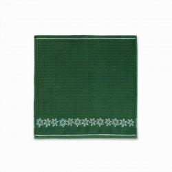 Ręcznik Mięta 50x50cm wz. śnieżka zielony