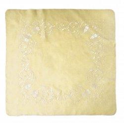 Obrus Haftowany Bruna 9591 85x85 cm kolor: krem