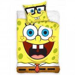 Pościel licencyjna 100% bawełna 160x200 lub 140x200 - wz. SpongeBob sbob163001