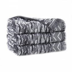 Ręcznik INDIANA z frędzlami 70x140 kolor szary