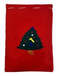 Worki na prezenty, worek Świętego Mikołaja roz. 62x40 wz. 2