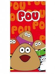 Ręcznik dziecięcy - Pou - rozmiar 75x150