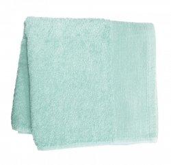 Ręcznik PROMOCJA,ręcznik jednobarwne AQUA rozmiar 50x100 wz. niebieski