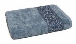 Ręcznik ORIENT - rozmiar 50x90 wz. Turkus