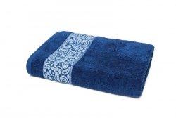 Ręcznik ORIENT - rozmiar 50x90 wz. Granat