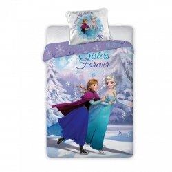 Pościel licencyjna Disney 100% bawełna 160x200 lub 140x200 KRAINA LODU - FROZEN 078