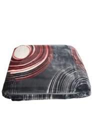 Koc akrylowy Elway, 160x210 wz. Koło