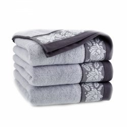 Ręcznik frotte KARIF 70x140 kolor szary