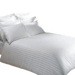 Prześcieradło hotelowe ADAMASZEK 200x200 100% bawełna