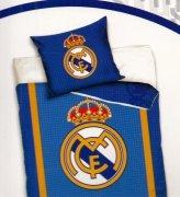 Pościel sportowa licencyjna 100% bawełna 160x200 - Real Madrid 9001