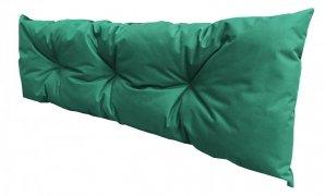 Poduszka ogrodowa na paletę - oparcie 120x40 wz. Ciemnozielony