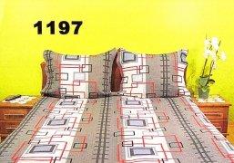 Pościel kora 160x200 , 100% bawełna wz. K1197 zapinana na zamek