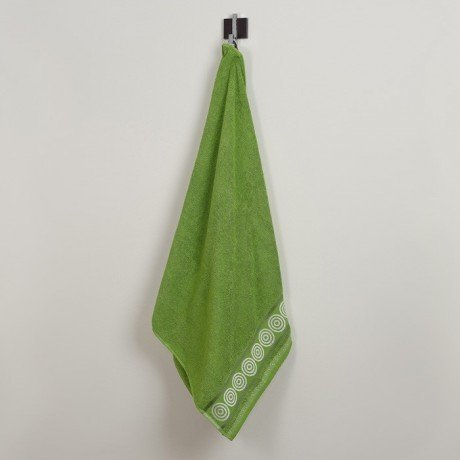Ręcznik frotte Rondo 70x140 kolor groszek k9