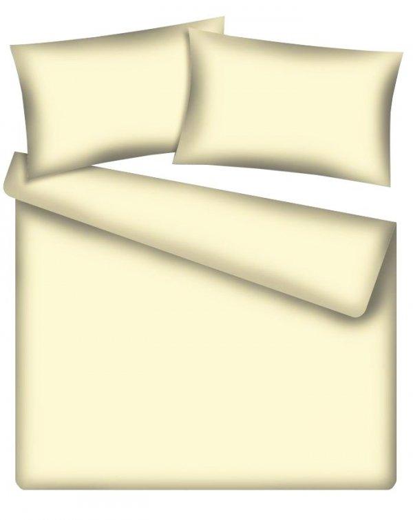 Poszewka z bawełny satynowej 40x40 wz. kremowy