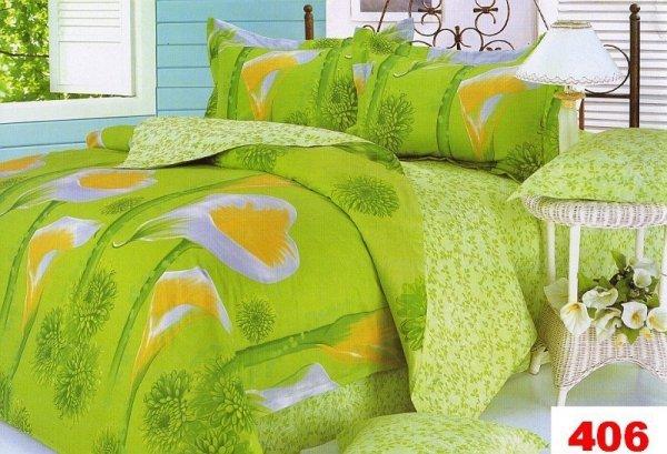 Poszewki na poduszki 40x40 bawełna satynowa wz. 0406