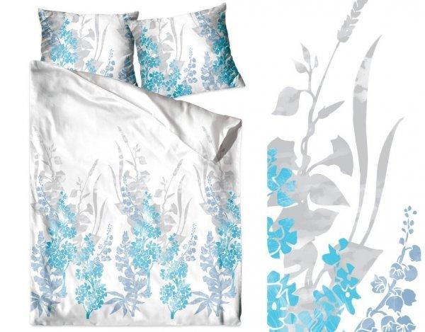 Pościel Bawełniana GRENO 140x200 + 1x70x80 wz. KIM BLUE