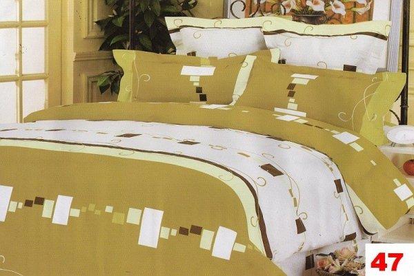 Poszewki na poduszki 40x40 bawełna satynowa wz. 0047