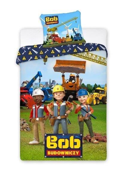 Pościel licencyjna Bob Budowniczy 100% bawełna 160x200 lub 140x200 - wz. 007