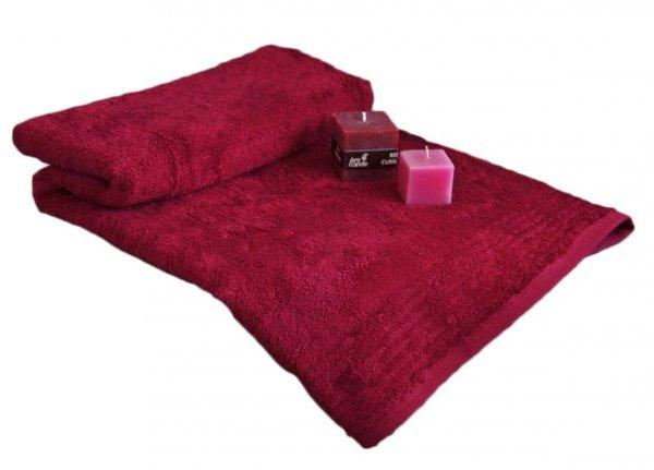 Ręczniki BAMBOO Andropol 50x90 wz. burgund