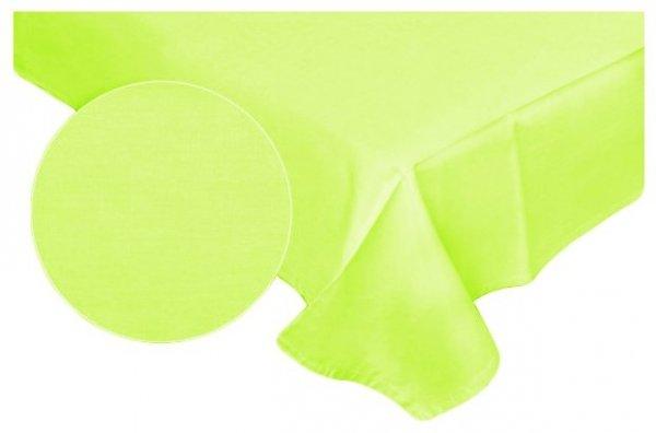 Prześcieradło RUBIN 100% bawełna 160x220 bez gumki wz.  limonka 029