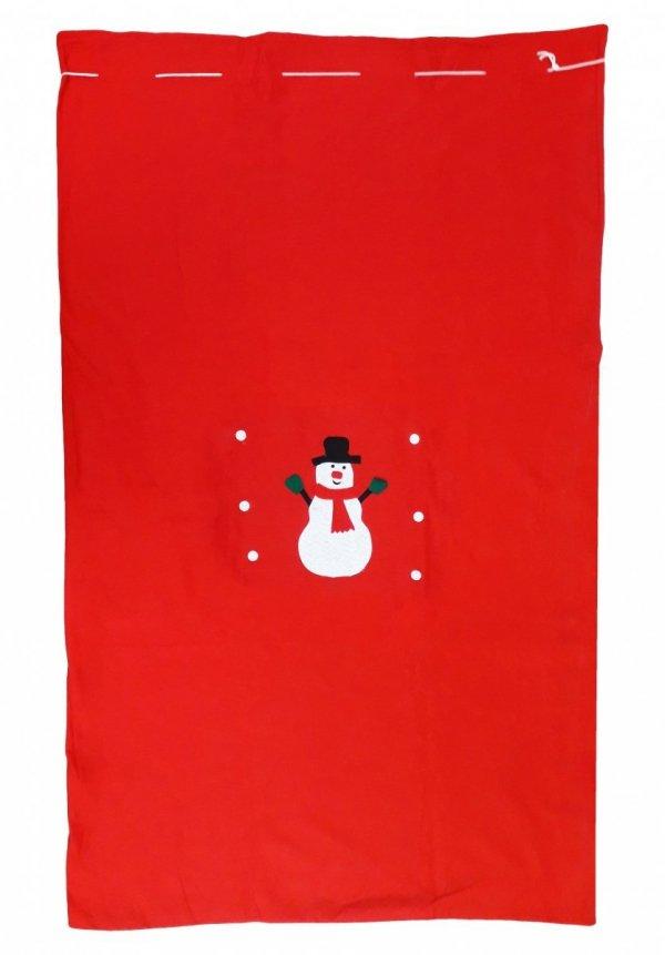 Worki na prezenty, worek Świętego Mikołaja roz. 150x100 wz.2