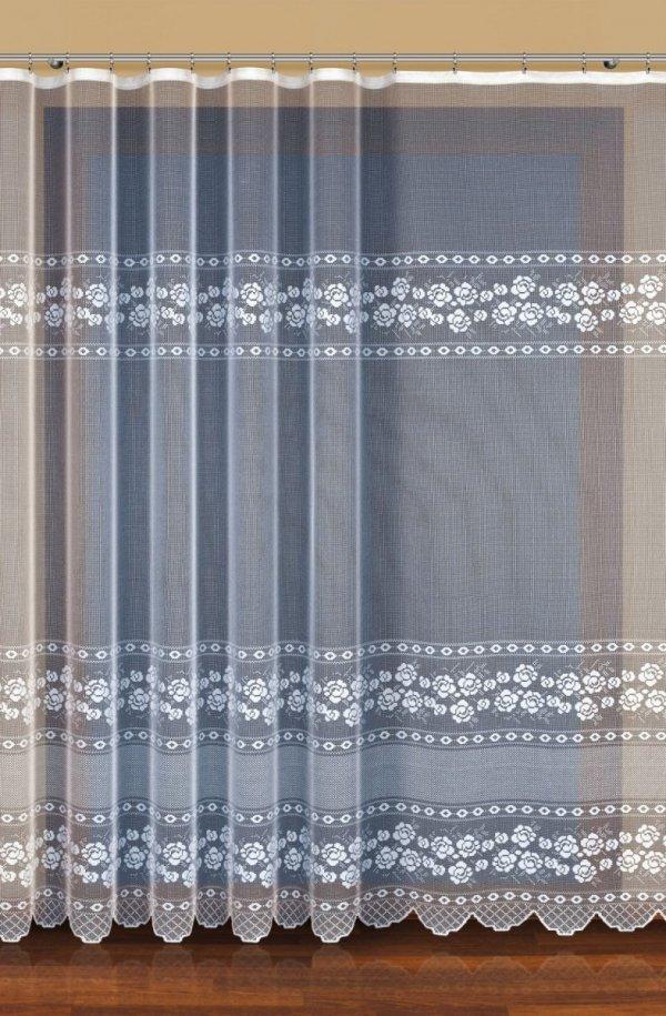 Firana żakardowa kolor kremowy (h max. 2,50m) wz. 32464
