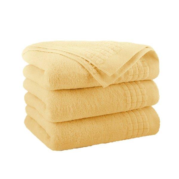 Ręcznik  PAULO  70x140 słomkowy