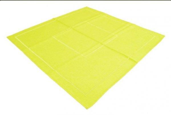 Obrus Technic rozmiar 120x120 wzór żółty (246)