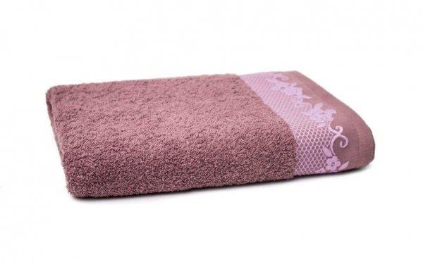 Ręcznik BJORK- rozmiar 70x140 wz. Lawenda