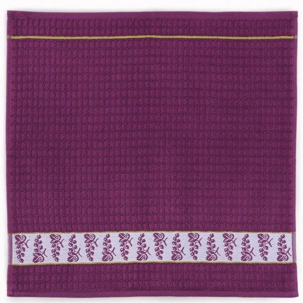 Ręcznik Mięta 50x50cm wz. czarna porzeczka