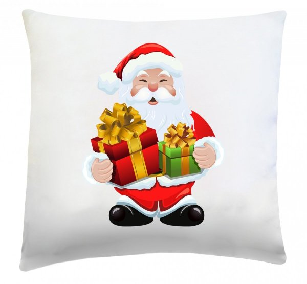 Poduszka świąteczna 40x40 wz. Święty Mikołaj 3