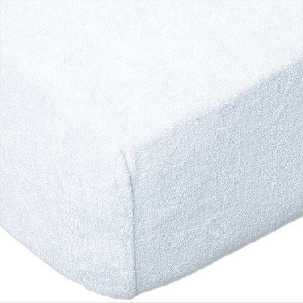 Grube Prześcieradło FROTTE z gumką do łóżeczka 60x120 wz. D001 (białe)