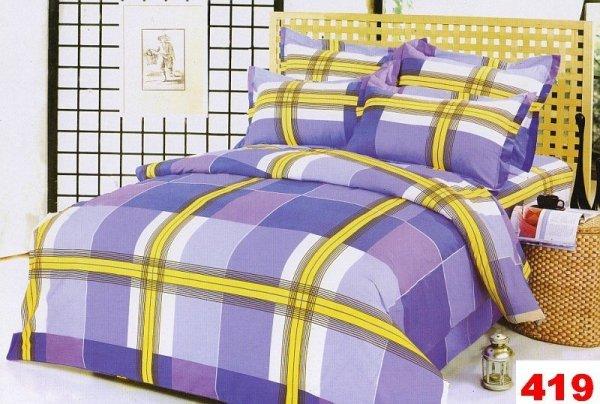 Poszewki na poduszki 40x40 bawełna satynowa wz. 0419