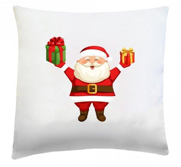 Poduszka świąteczna 40x40 wz. Święty Mikołaj 2