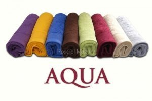 Ręcznik PROMOCJA,ręcznik jednobarwne AQUA rozmiar 50x100 wz. brązowy