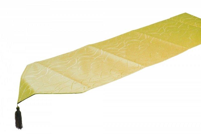 Obrus plamoodporny Jedeka 33x140 szarfa Kolor: Limonka