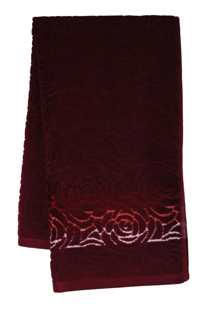 Ręcznik ROSSO 50x90 kolor bordowy