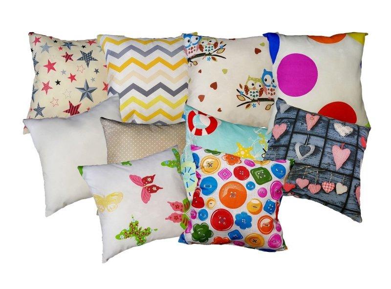 Miękka poduszka 40x40 MIX wzorów i kolorów