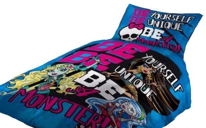 Pościel licencyjna Disney 100% bawełna 140x200 - Monster High