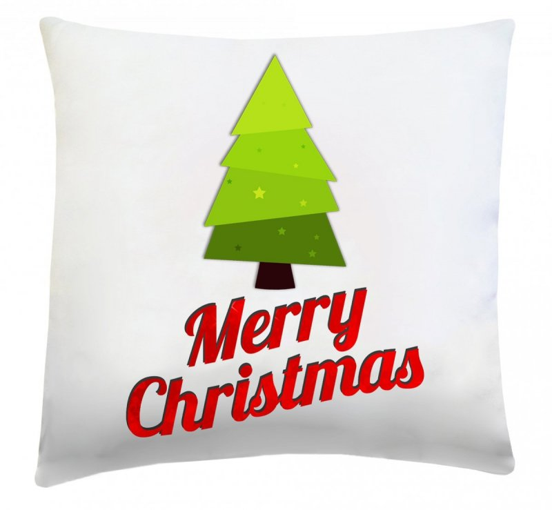 Poduszka świąteczna 40x40 wz. Merry Christmas
