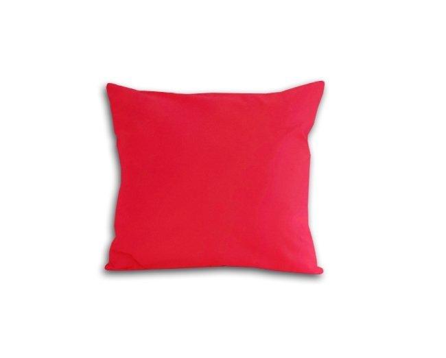 Poszewka na poduszkę 40x40 - 100% bawełna satynowa DARYMEX, zapięcie na zamek wz. koral 039