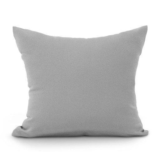 Poszewka na poduszkę RUBIN wz. ciemny szary, rozmiar 50x70 100% bawełna