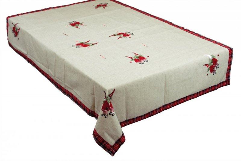 Obrus świąteczny MIŁKA rozmiar 110x160 wzór h636