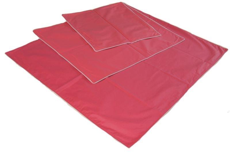Wsypa na poduszkę rozmiar 40x40 wz. różowy